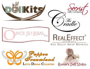 logo_banner Doll Joints, Neck Rings & Plugs