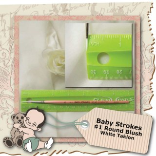 Baby Strokes #1 Round Brush