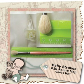 Baby Strokes #10 Round Brush