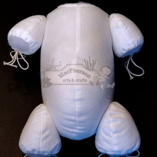 White Body - Jointed 3/4 Arms & 3/4 Legs