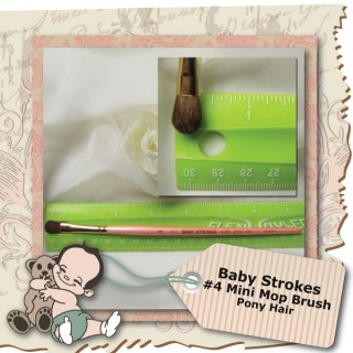 Baby Strokes #4 Mini Mop Brush