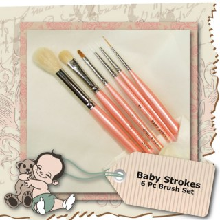 Baby Strokes 6Pc Brush Set