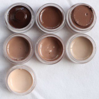 AR Complete 7 Piece Flesh Tone Paint Set