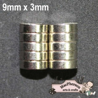 Rare Earth Magnets - 10 per Pack