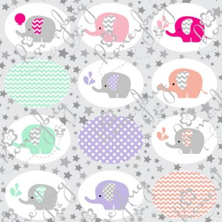 Honeybug Sprinkles ~ Baby Elephant