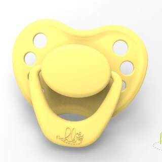 HoneyBug Sweetheart Pacifier - Bumble Bee Yellow