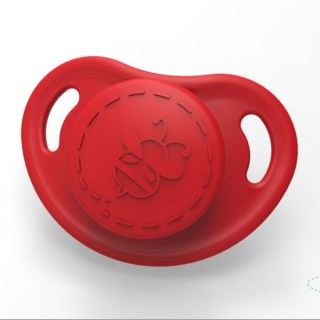 HoneyBug Cutie Pie Micro Preemie Pacifier - Sweetheart Red