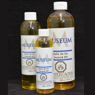Museum Brand Linseed Oil