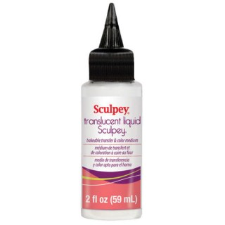 Liquid Sculpey Bakable Transfer & Color Medium