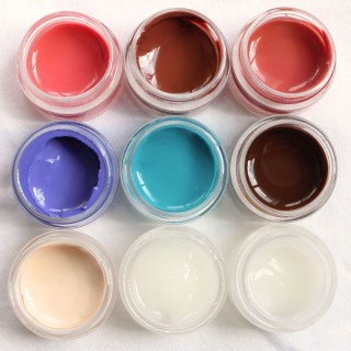 AR Peaches and Cream Paint Set - 9 Piece
