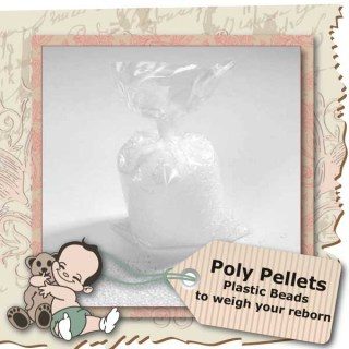 Poly Pellets to weigh your Reborn Doll with