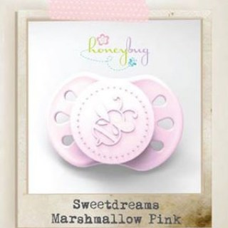 Sweet Dreams Preemie Pacifier - Marshmallow Pink
