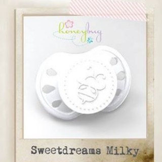 Sweet Dreams Preemie Pacifier - Milky White