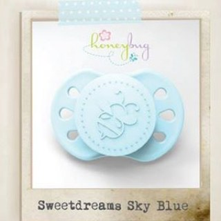 Sweet Dreams Preemie Pacifier - Sky Blue
