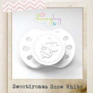 Sweet Dreams Preemie Pacifier - Snow White